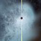 """Buraco negro """"peladão"""" é descoberto correndo pelo universo"""