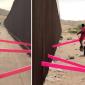 Gangorra que uniu imigrantes no muro da fronteira dos EUA ganha prêmio